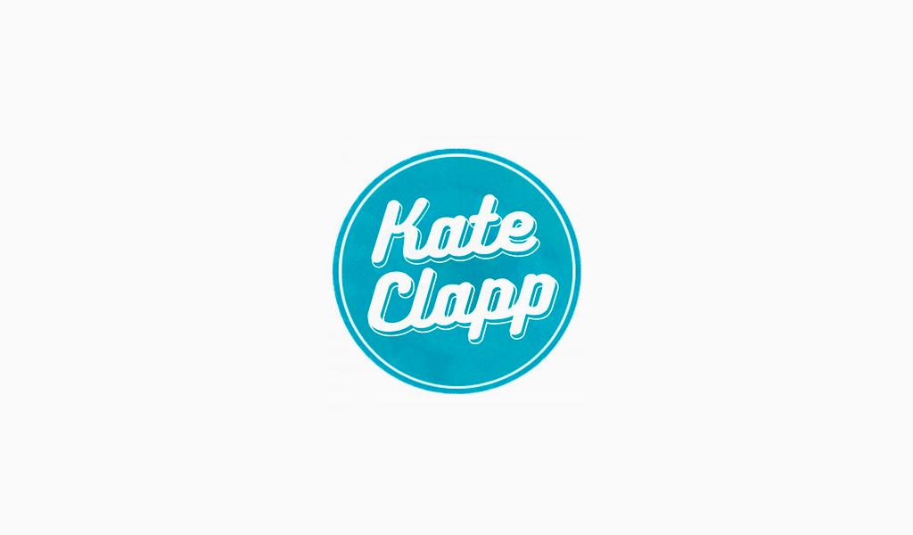 Логотип канала TheKateClapp