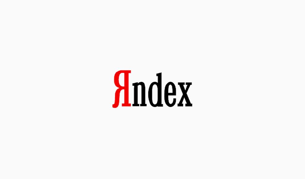 Логотип Яндекс 1999