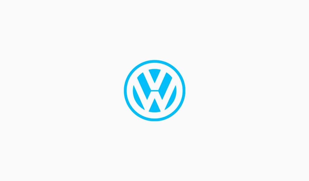 Логотип Фольксваген 1989