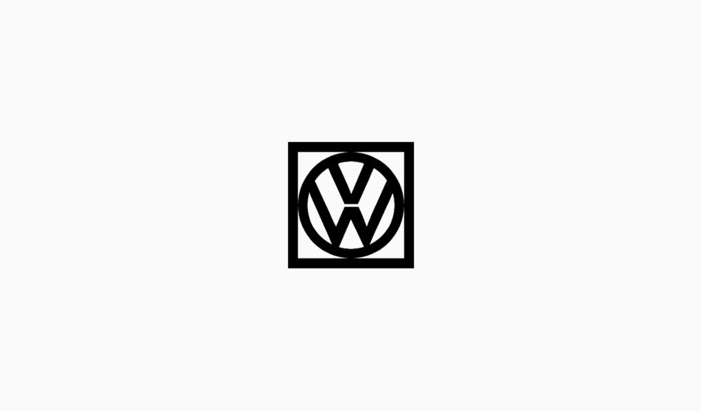 Логотип Фольксваген 1960