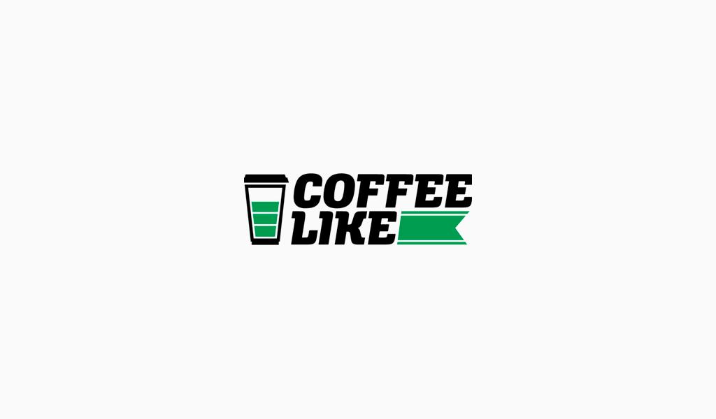 Логотип coffee like