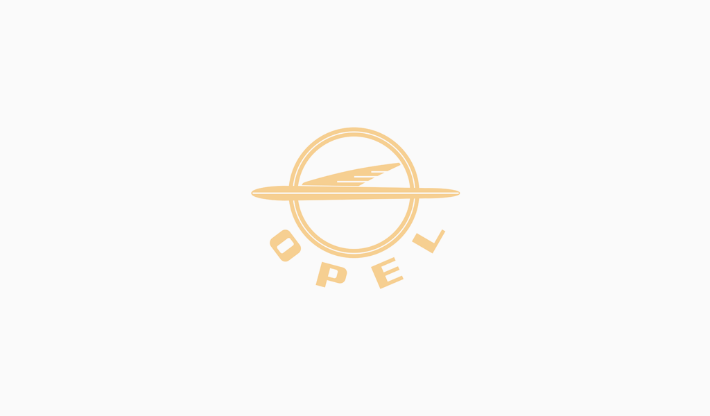 Логотип Опель 1954