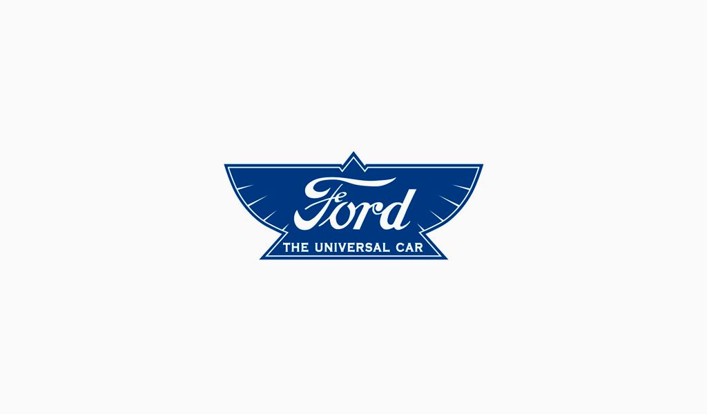 Логотип Форд 1912