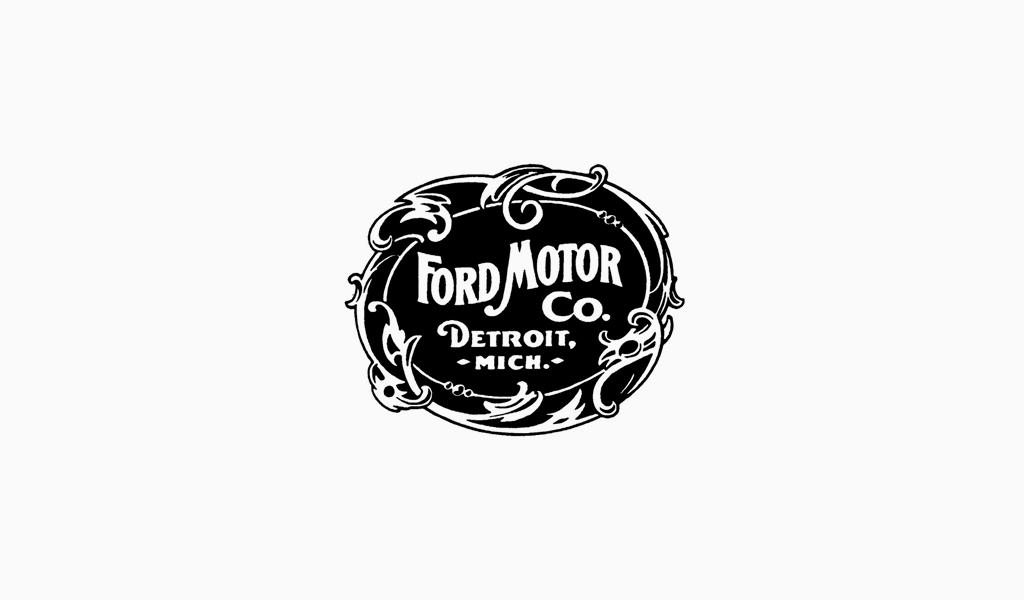 Логотип Форд 1903