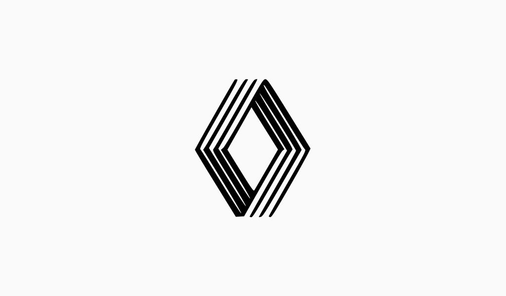 Логотип Рено 1992