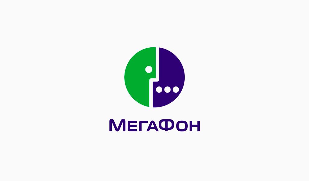 Логотип Мегафон 2002
