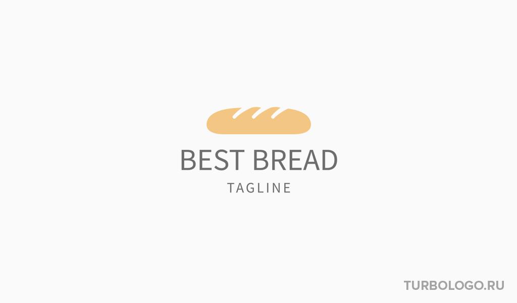 Логотип для пекарни хлеб