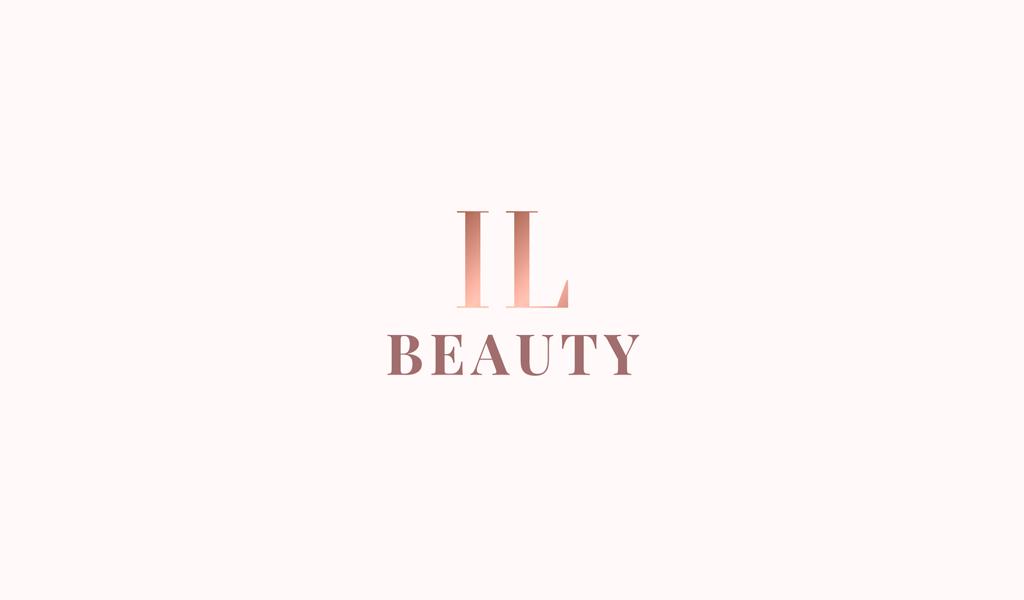 Логотип салона красоты градиент