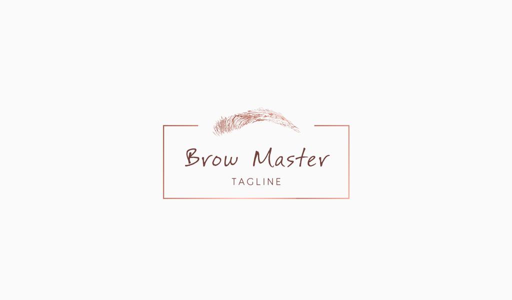Логотип броу мастера