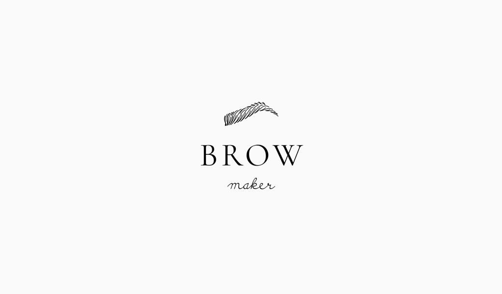 Логотип салона бровей