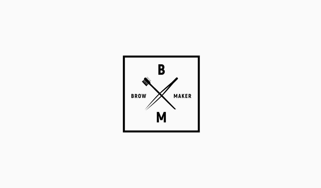 Логотип для бровиста