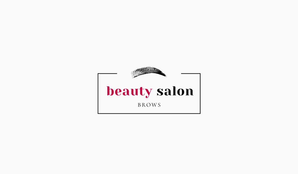 Логотип салона красоты бровист