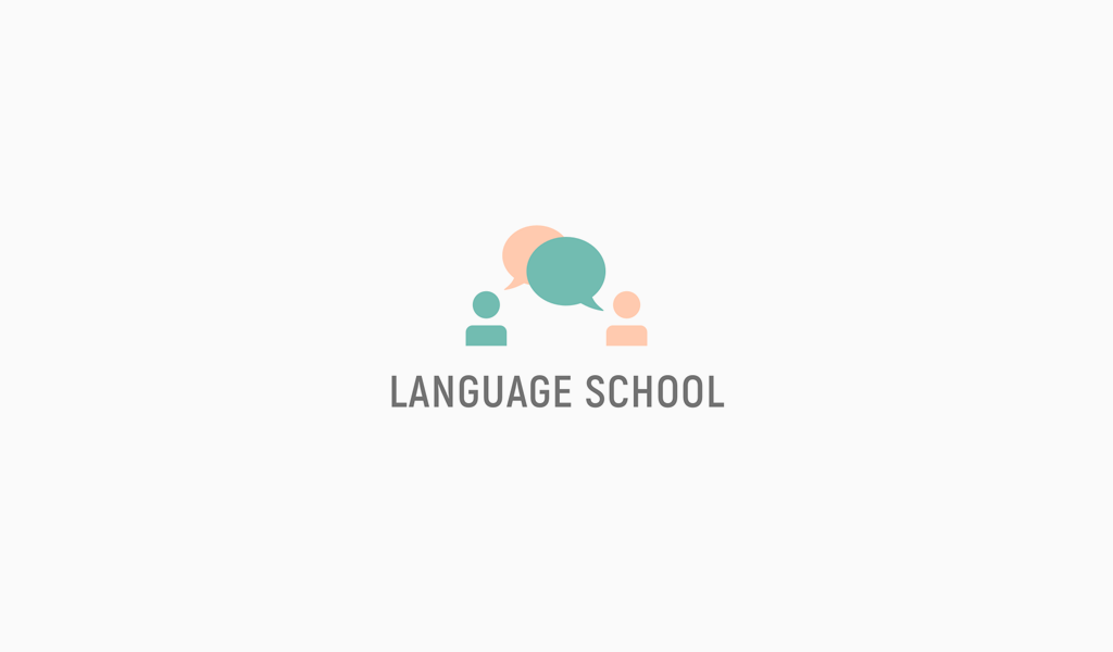 Логотип курсов иностранного языка