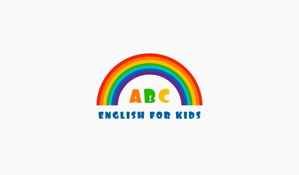 Логотип для детской школы английского языка