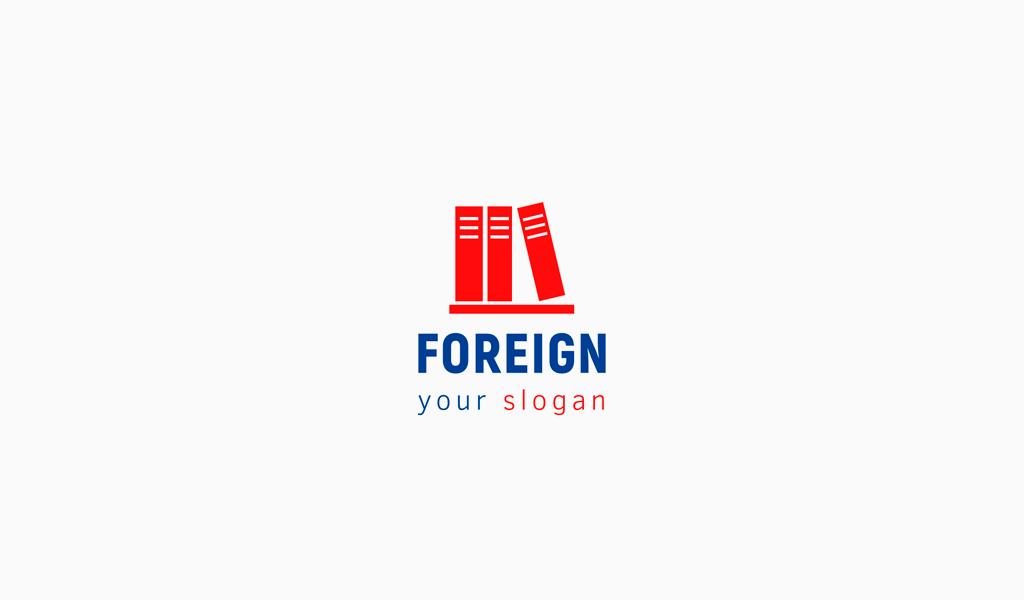 Логотип школы иностранных языков