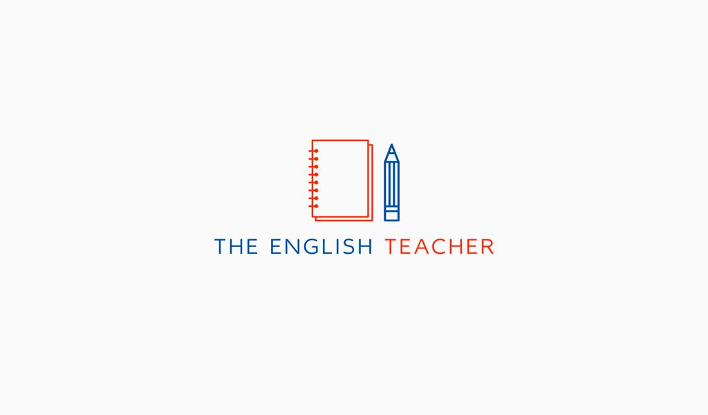 Логотип для учителя английского языка
