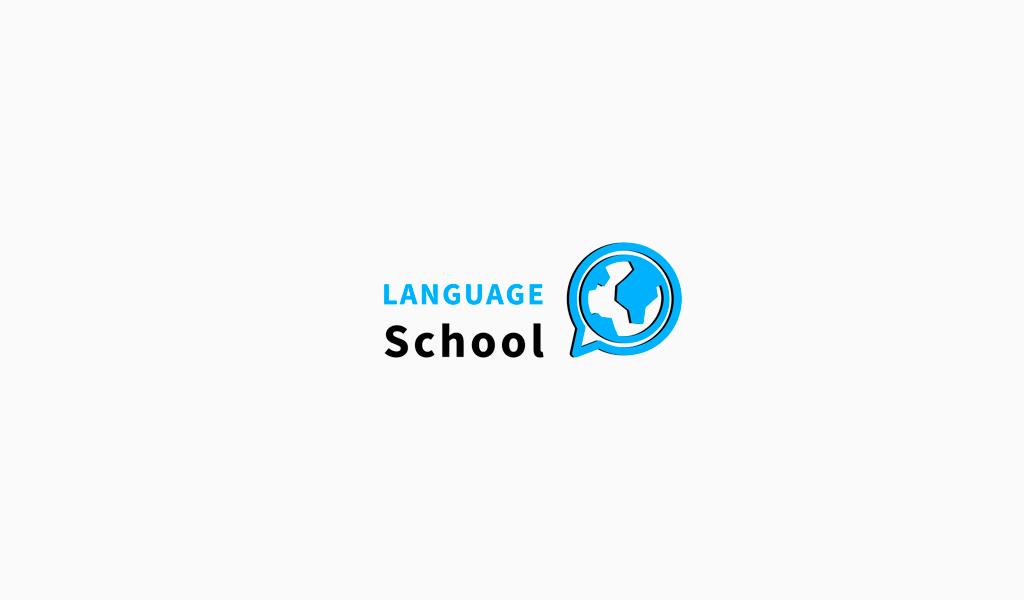 Логотип языковой школы