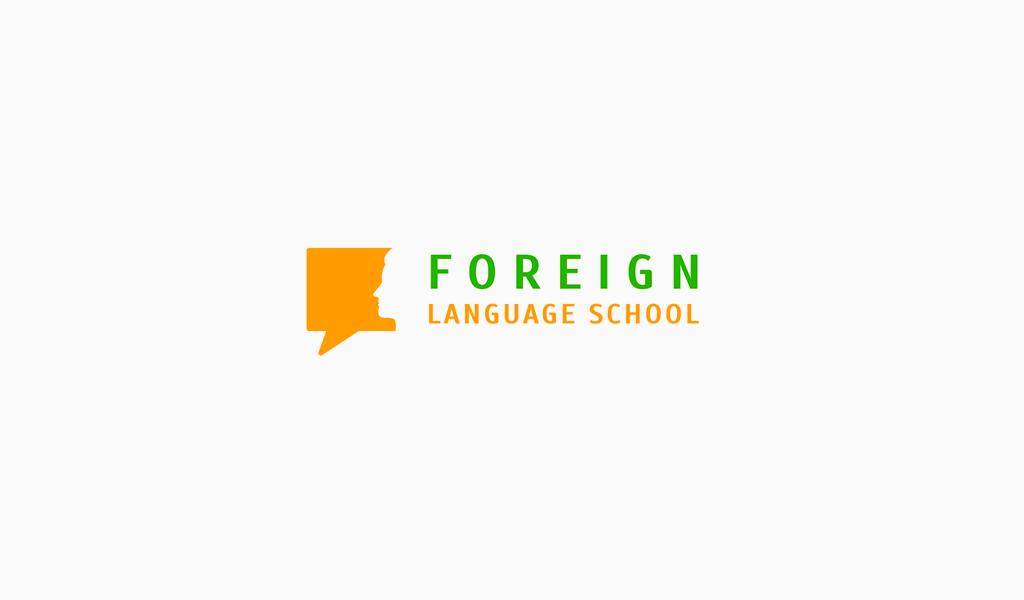Логотип языковой онлайн-школы
