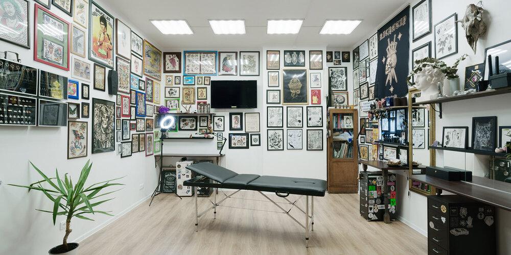 Собственный кабинет тату-мастера