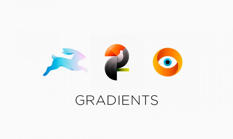 Логотипы с градиентом