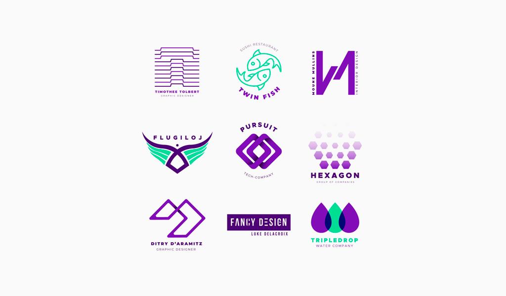 Как сделать логотип с градиентом