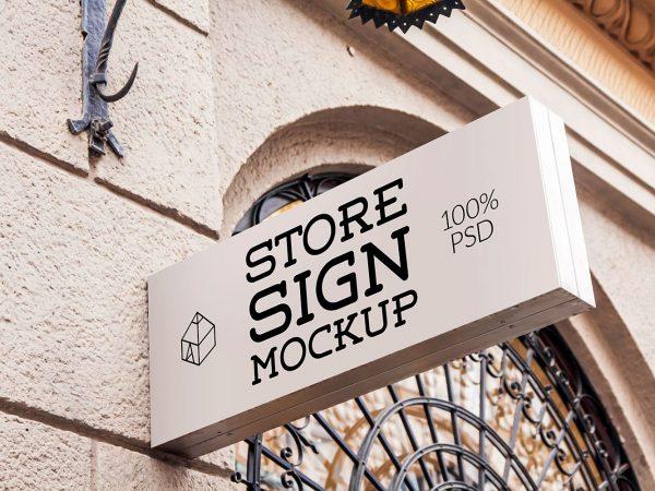Пример вывески магазина