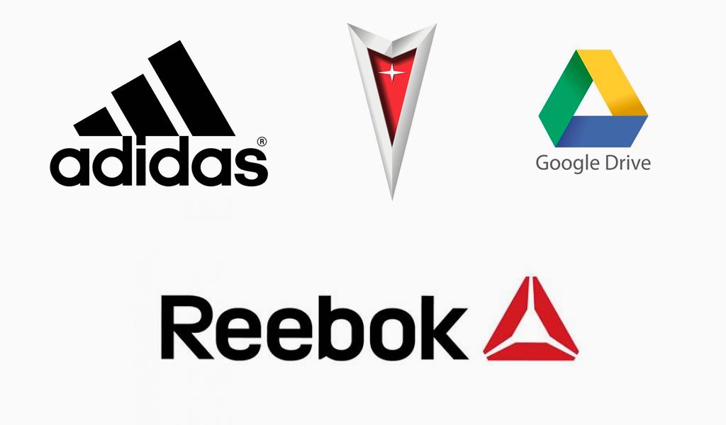 Логотипы в форме треугольника