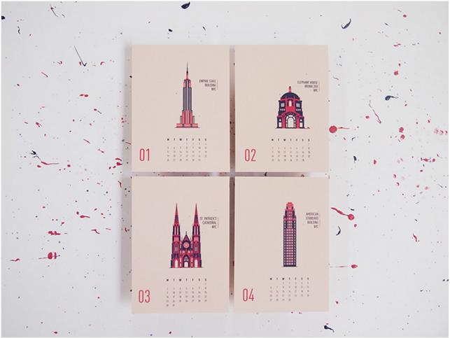 форматы календаря