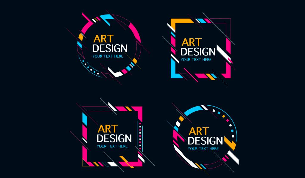 Как сделать арт логотип