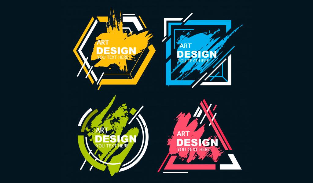 Как создать арт логотип