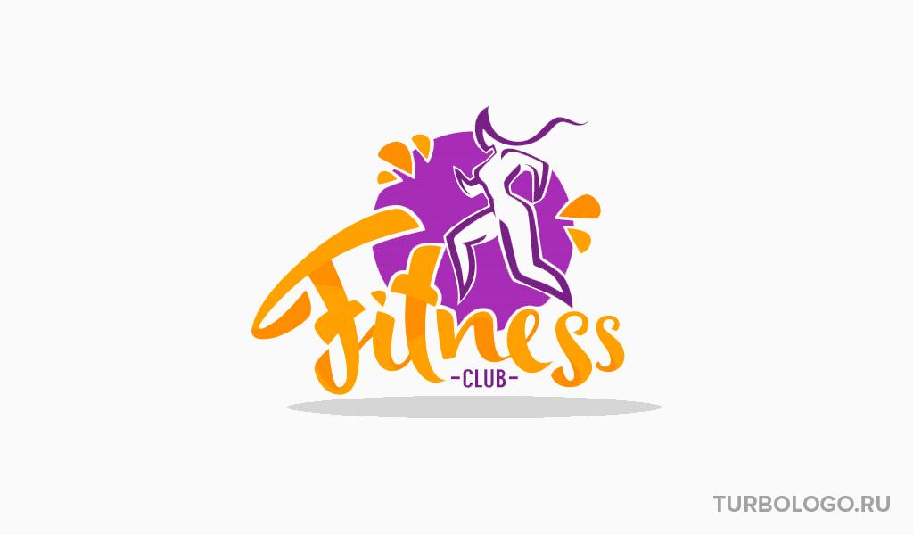 Логотип фитнес центра