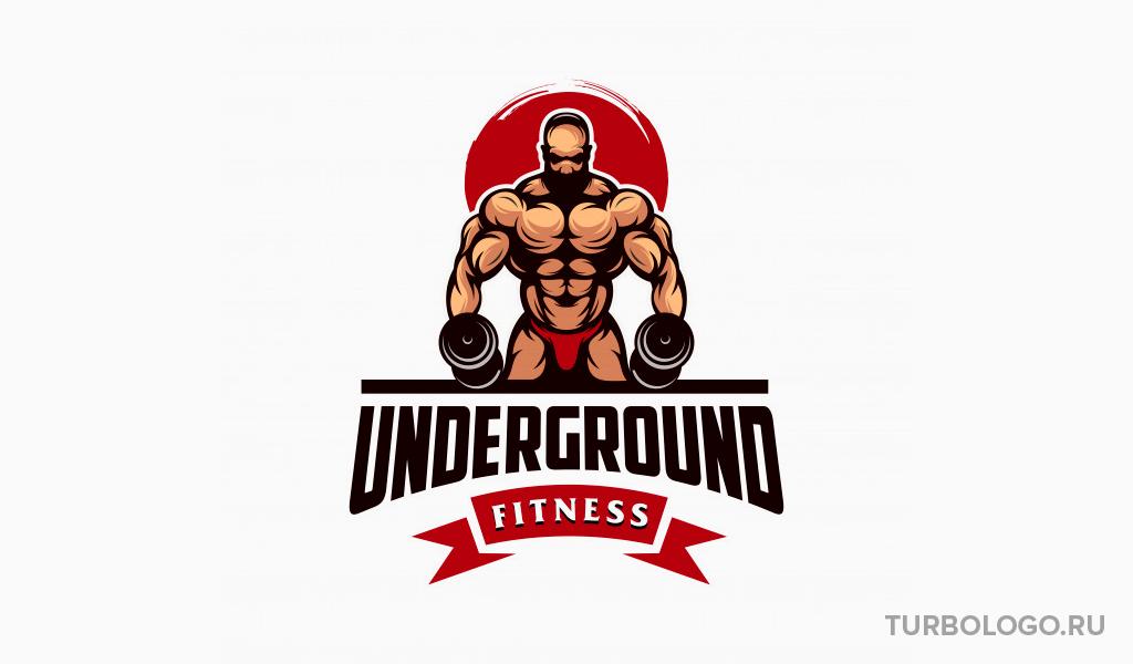 Логотип тренажерного зала