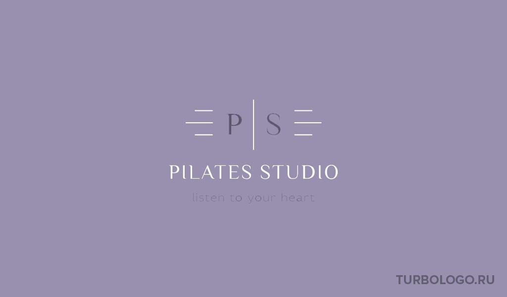 Логотип пилатес студии