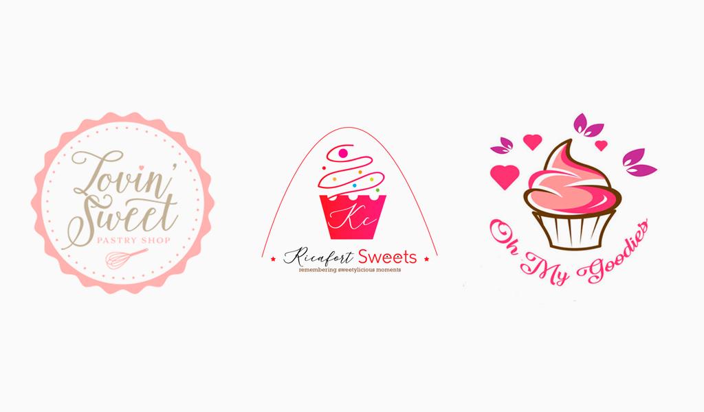 Логотипы кондитера выпечка