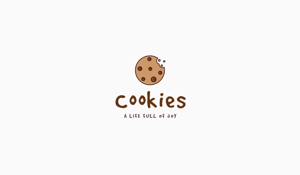 Логотип кондитерской печенье
