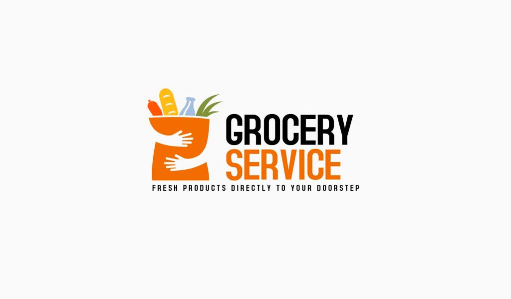 Логотип для доставки пакет