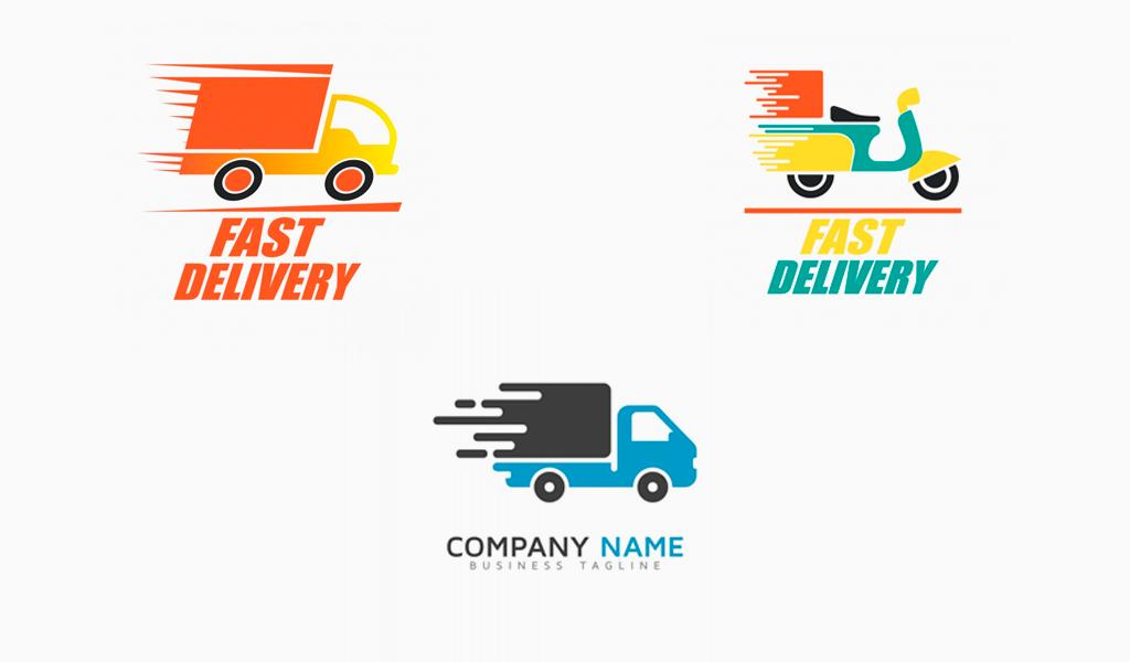 Логотипы для доставки