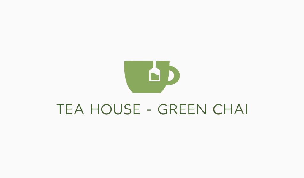 Логотип для кафе чай