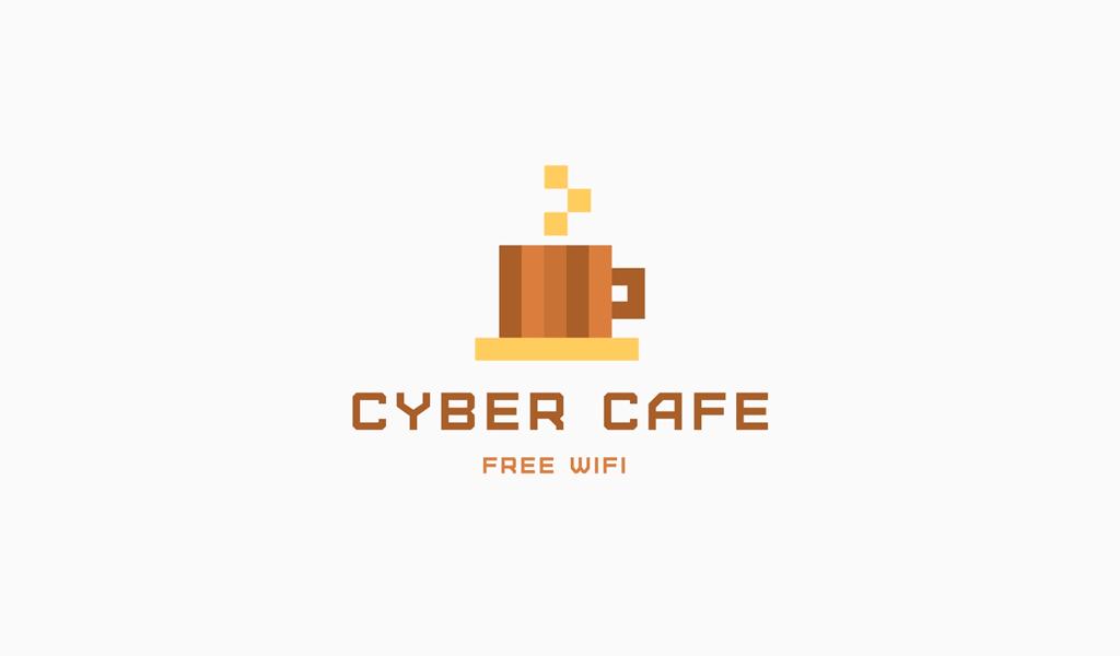 Логотип для киберкафе