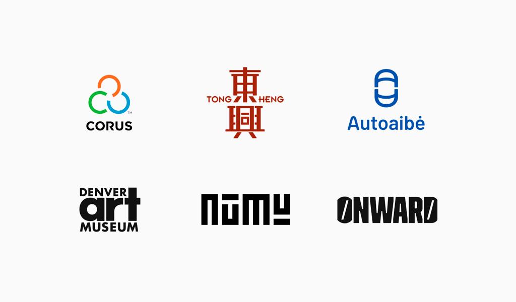 Гармоничные логотипы