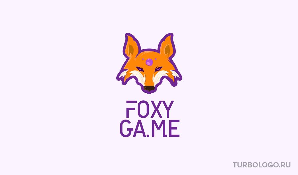 Логотип для Twitch лиса