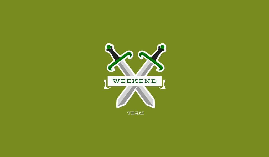 Игровой логотип мечи