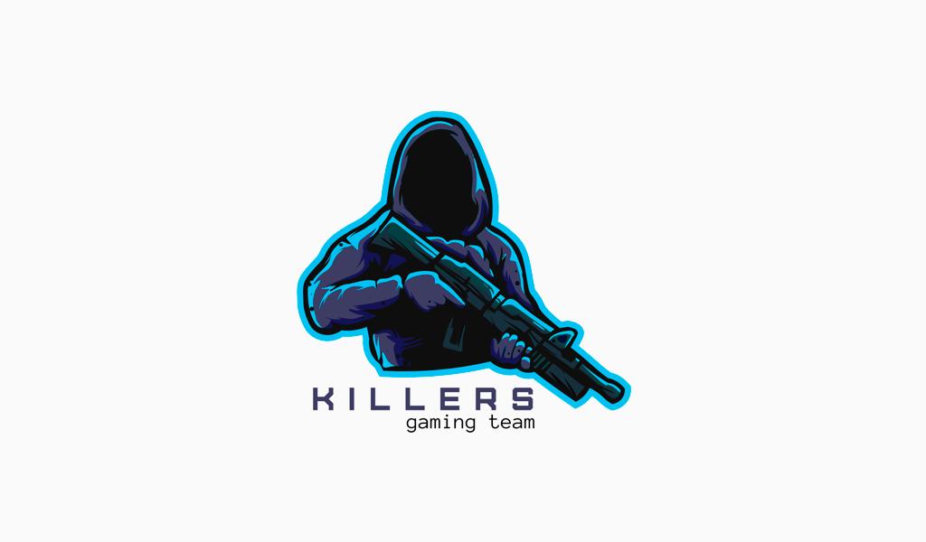 Игровой логотип Киллер