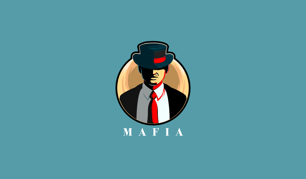Игровой логотип Мафия