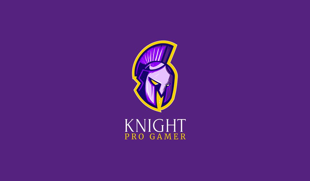 Игровой логотип шлем