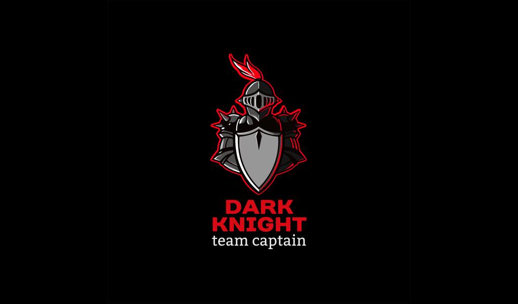 Игровой логотип рыцарь