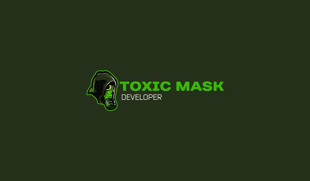 Игровой логотип токсичный