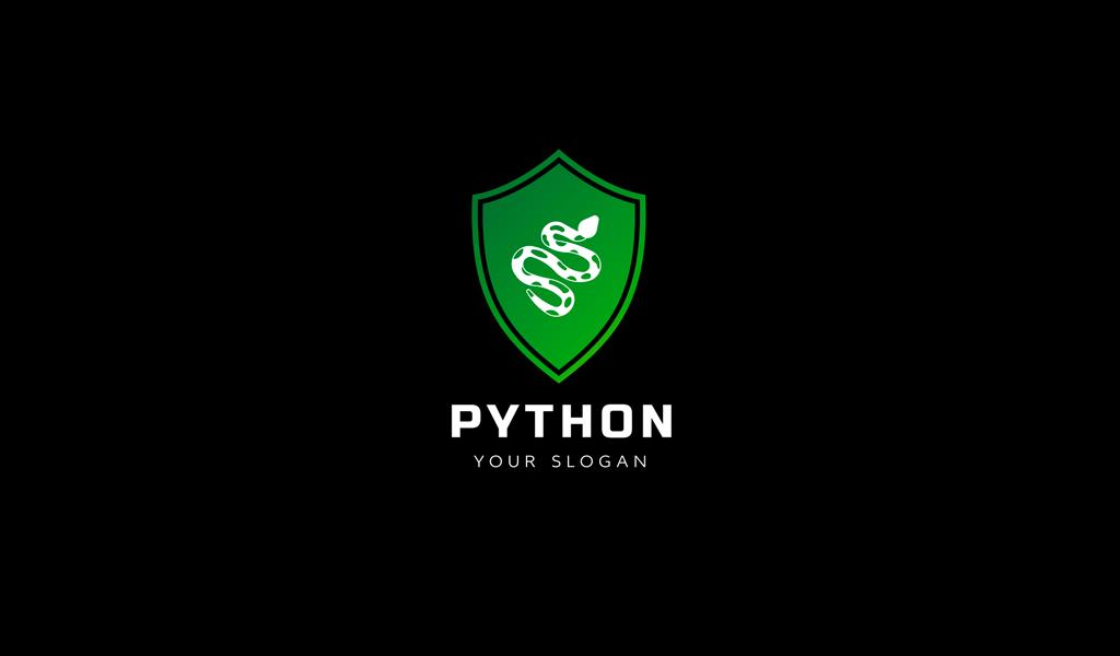 Игровой логотип змея