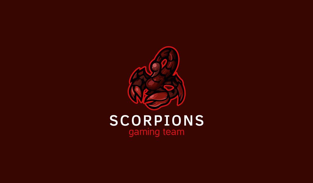 Логотип для Twitch скорпион