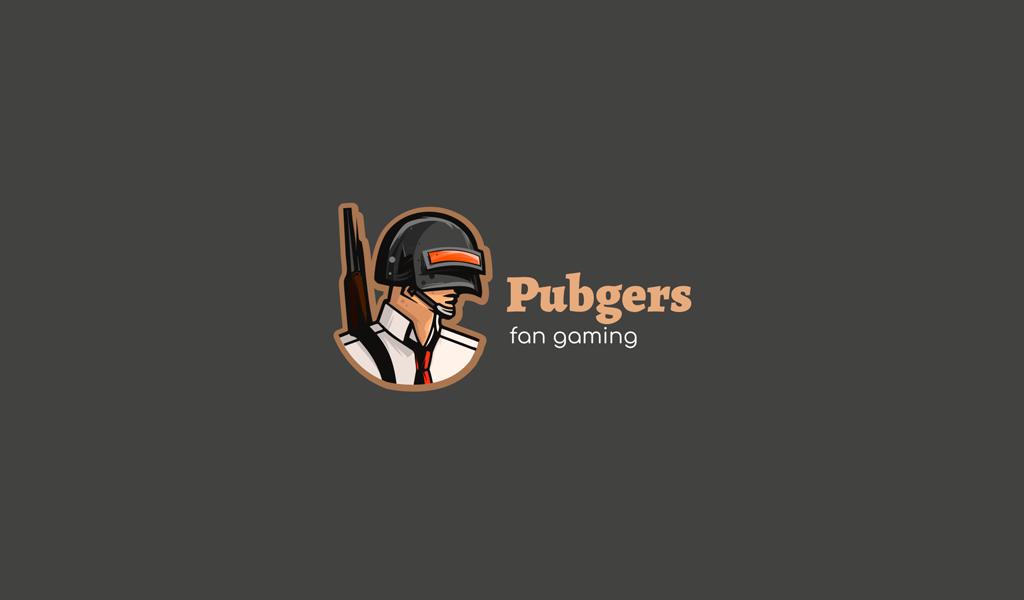 Игровой логотип пабг